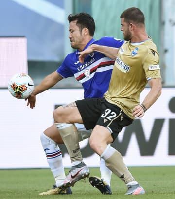 サッカー、吉田はフル出場 イタリア1部、冨安途中交代 画像1