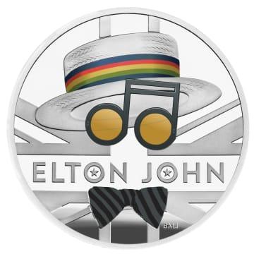 エルトン・ジョンさん記念硬貨に 英、半世紀の功績たたえ 画像1
