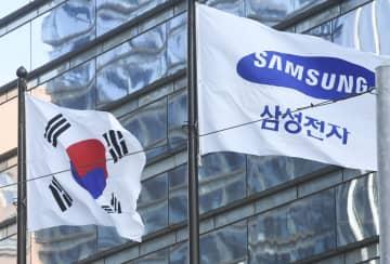韓国サムスン、営業益2割増 オンライン増で半導体好調 画像1