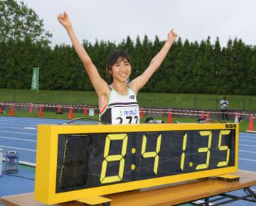 田中が女子3千メートルで日本新 ホクレン陸上、8分41秒35 画像1