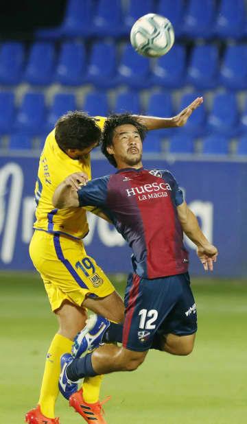 ウエスカ岡崎、今季11ゴール目 サッカーのスペイン2部 画像1