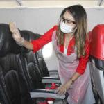 エアアジア、座席一便ごと消毒へ 感染防止、非接触型発券機も 画像1