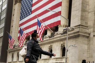 NY株反落、361ドル安 米経済先行きに警戒感 画像1