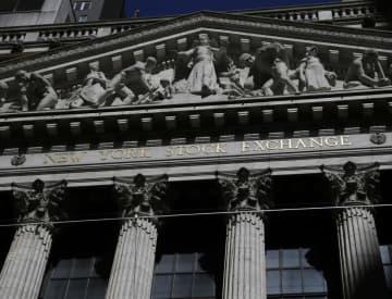 NY株反発、369ドル高 薬に期待、ナスダック最高 画像1