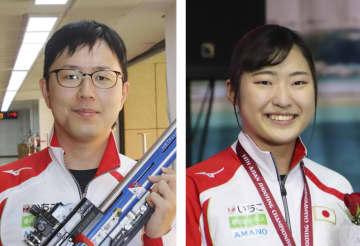 射撃の松本と平田、五輪代表維持 ライフル3姿勢、協会決定 画像1