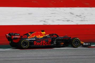 F1ホンダ、今季初の表彰台 フェルスタッペン3位 画像1