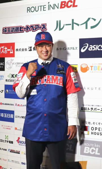 「オファーうれしかった」 田沢純一投手が埼玉入りで会見 画像1