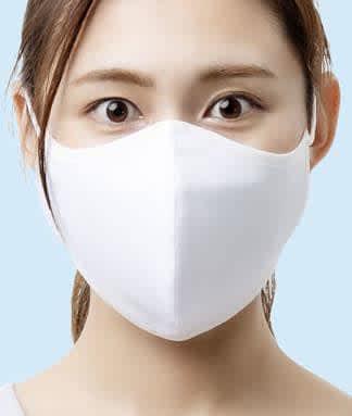 クラボウが抗ウイルスの夏マスク 速乾素材、特殊な繊維加工を採用 画像1