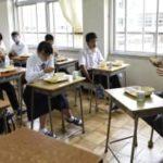 「鉄人レース」選手が中学訪問 鳥取、トライアスロン大会中止で 画像1