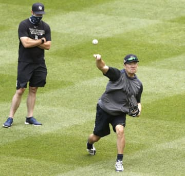 ヤンキース田中、投球練習再開へ 順調なら開幕前に対戦形式 画像1