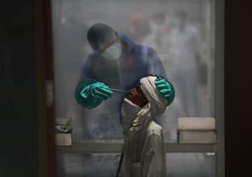 インドでコロナ感染者100万超 世界3番目、人口大国で懸念 画像1