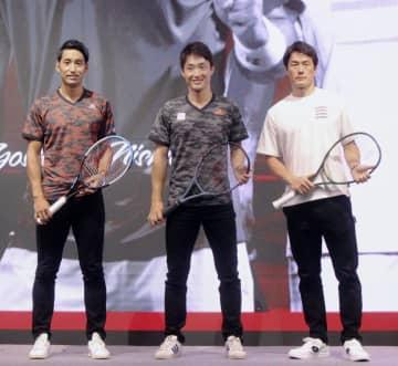 プロ、大学生らテニスでチーム戦 男子選手会、8月に千葉県柏市で 画像1