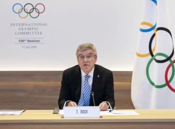 バッハ会長が再選出馬表明 IOC、延期後初の総会 画像1