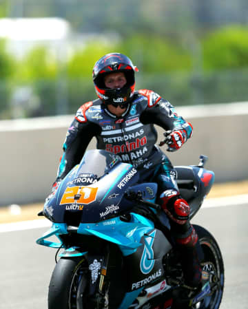 クアルタラロ初V、中上は10位 オートバイ世界選手権 画像1
