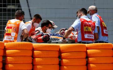 オートバイ、マルケスが右腕骨折 世界選手権シリーズ総合4連覇中 画像1