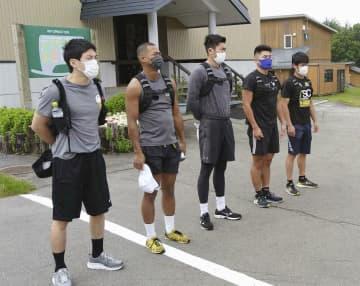 ボクシング岡沢「金メダル狙う」 五輪男子代表、山形で強化合宿 画像1