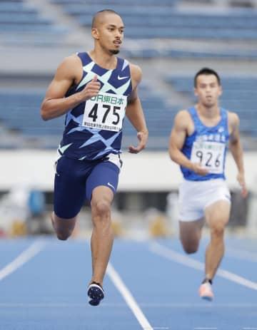 陸上、ケンブリッジが10秒29 東京選手権第1日、100m予選 画像1
