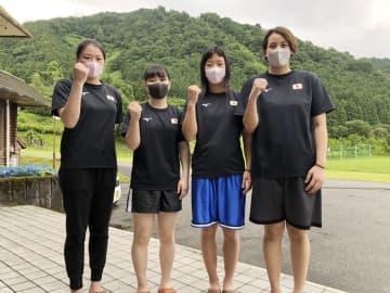 ボクシングの並木「金メダルを」 女子強化合宿、東京五輪へ決意 画像1
