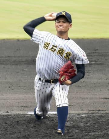 高校野球、明石商が初戦突破 兵庫県の代替大会 画像1