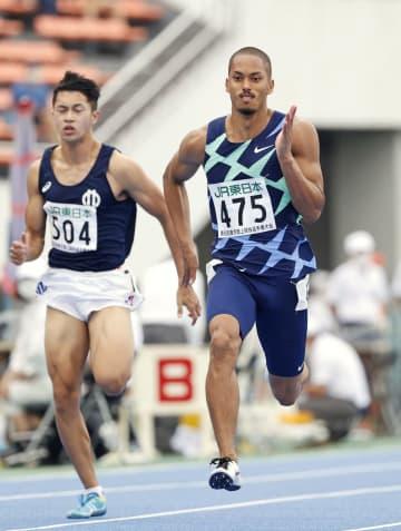 ケンブリッジが10秒22でV 陸上東京選手権第2日 画像1
