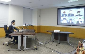 西村氏、6市長とコロナ対策協議 接待伴う店で集団感染多発受け 画像1