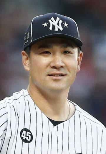 田中は8月1日以降初登板 レ軍戦、脳振とうから復帰 画像1