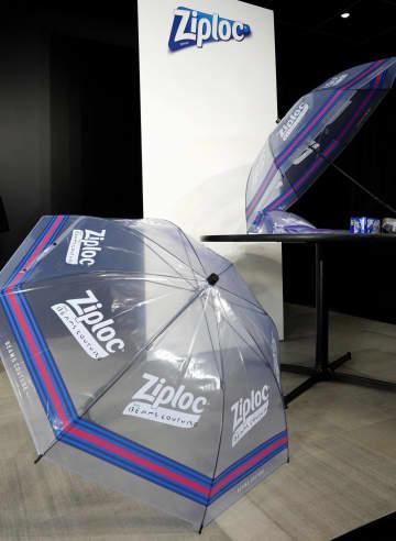 旭化成ジップロックの傘貸します 使用済みをリサイクル 画像1