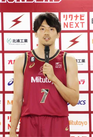 バスケ川崎、新ユニホームを発表 篠山「新シーズンへ着々」 画像1