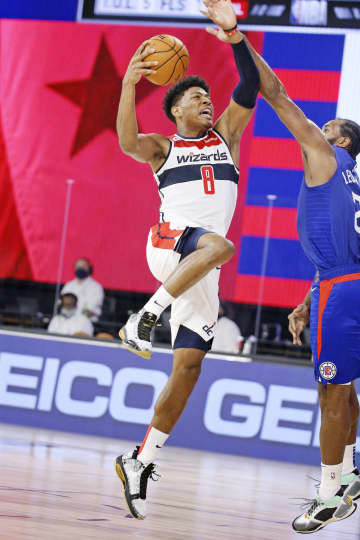 八村塁「重圧感じていない」 米NBA、シーズン再開初戦で 画像1