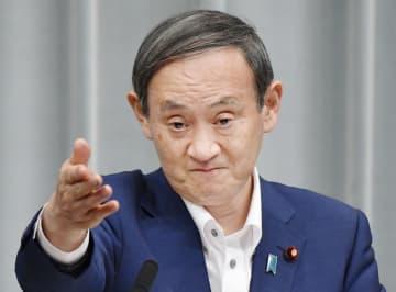 「リーマンショックより厳しい」 コロナ影響で菅官房長官 画像1