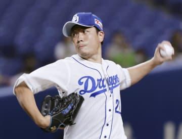 中5―3ヤ(31日) 大野雄大、完投で今季初勝利 画像1