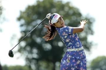 米女子ゴルフ再開、河本8位発進 新設のドライブオン選手権 画像1