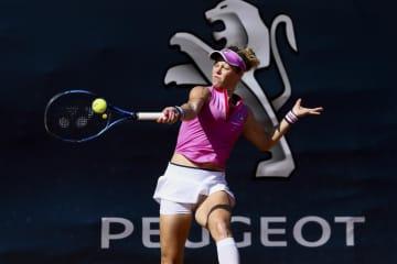 女子テニスがツアー再開 約5ケ月ぶり、イタリアで 画像1