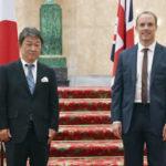 日英新貿易協定の重要性確認 両国外相、対面で会談 画像1