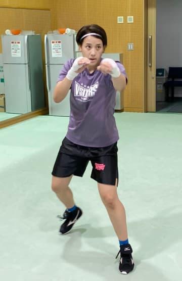 女子ボクサーがNTCで「特訓」 五輪目指す看護師の津端ありさ 画像1