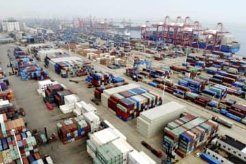 中国の7月輸出、7%増 輸入不調、対米協議に影 画像1