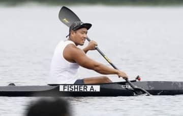 カヌー松下「五輪で上位を」 決勝だった日に水上練習 画像1
