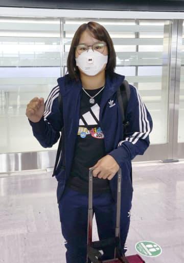 ゴルフ、畑岡奈紗が英国へ出発 米ツアー「ずっと心待ち」 画像1