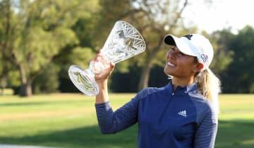 D・カン2週連続V、野村53位 米女子ゴルフのマラソンC 画像1
