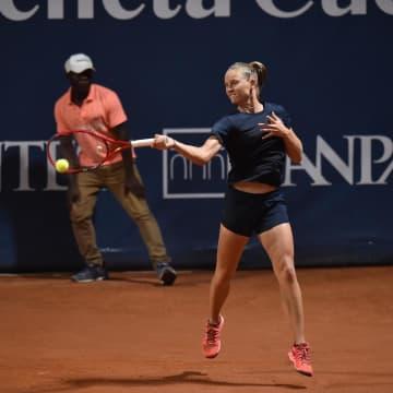 仏のフェロがツアー再開戦優勝 女子テニス大会、5カ月ぶり 画像1