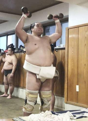 復活Vの照ノ富士、稽古を再開 大相撲、秋場所見据え意欲 画像1