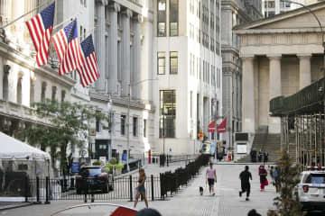NY株、5カ月半ぶり高値 357ドル高、経済対策期待 画像1