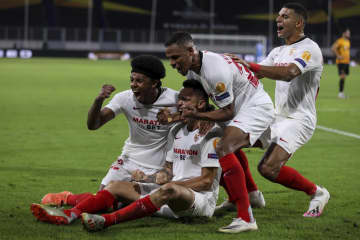 欧州サッカー、4強出そろう セビリアとシャフタル・ドネツク 画像1