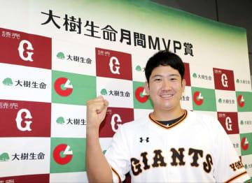 月間MVP、セは菅野と村上 6.7月、パは涌井と柳田 画像1