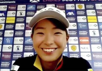 渋野日向子、「上位争いしたい」 13日、全英女子ゴルフ前哨戦 画像1