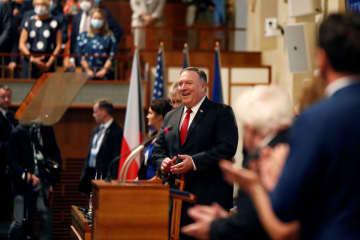 国務長官、米中対立「冷戦以上」 東欧で演説、共産党批判を先鋭化 画像1