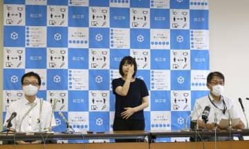 島根県外に帰省した生徒1人陽性 立正大淞南高の集団感染 画像1