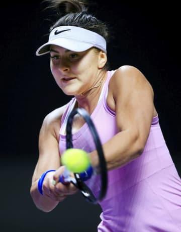 テニス全米OP、前回女王も欠場 カナダのアンドレースク 画像1