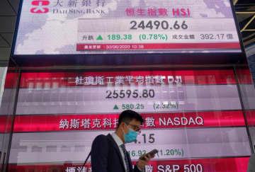 在香港米企業の4割、移転検討 国安法への不安反映 画像1
