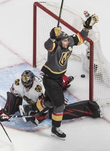 NHLゴールデンナイツが2連勝 プレーオフ、東西で4試合 画像1